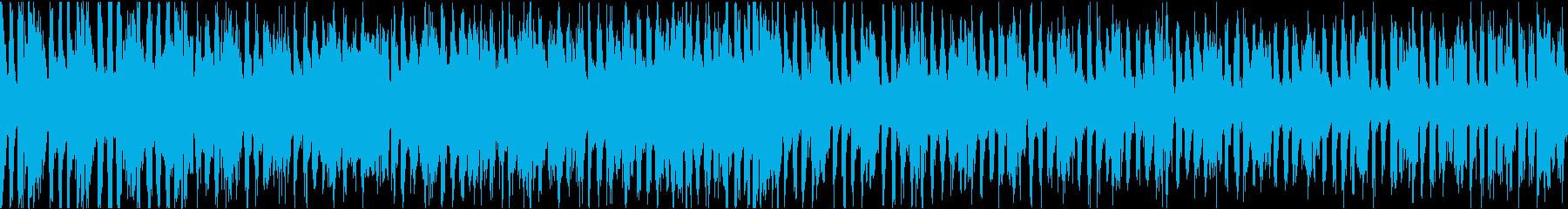 宇宙のシューティングゲーム 60秒ループの再生済みの波形