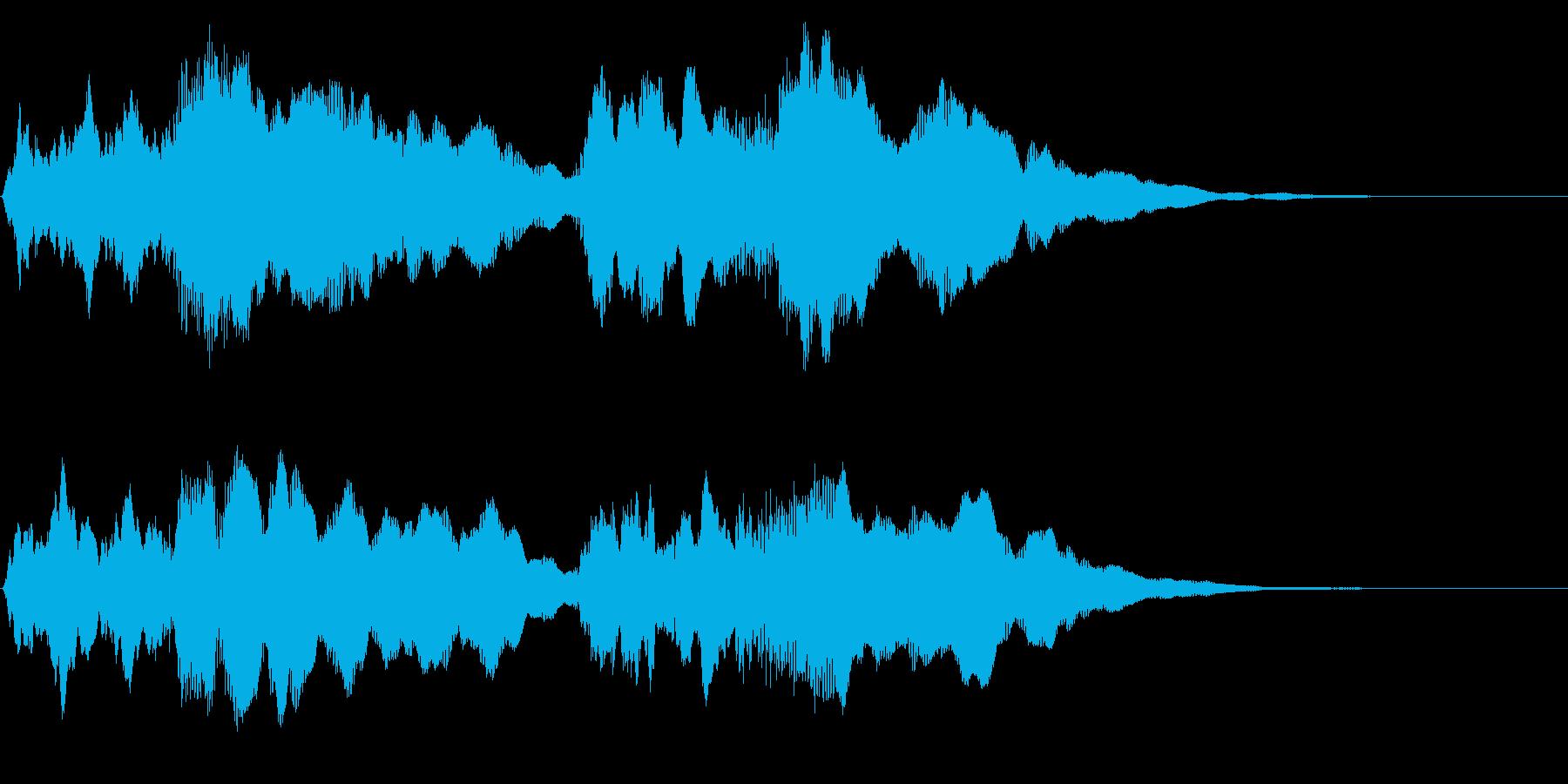 ジャジャジャジャーン 運命の冒頭アレンジの再生済みの波形