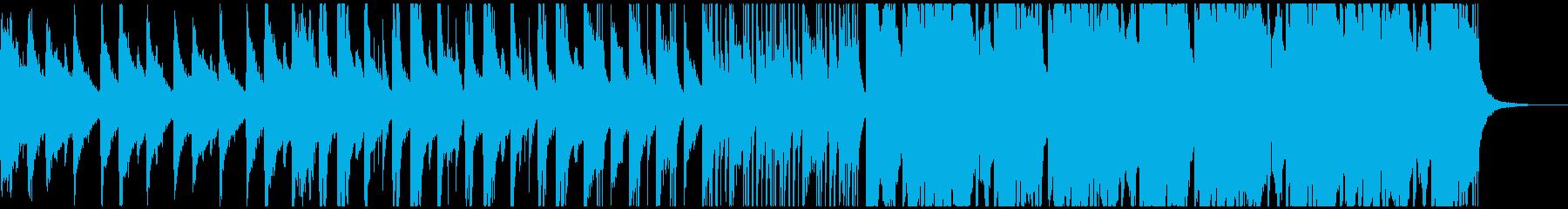 クールな和風のCM向きエレクトロの再生済みの波形