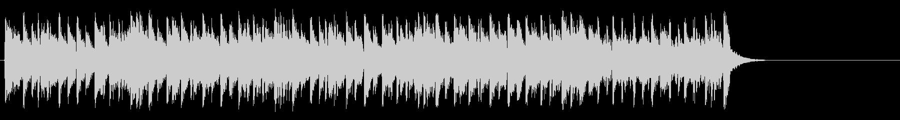 軽やかなフュージョン(サビ~イントロ)の未再生の波形