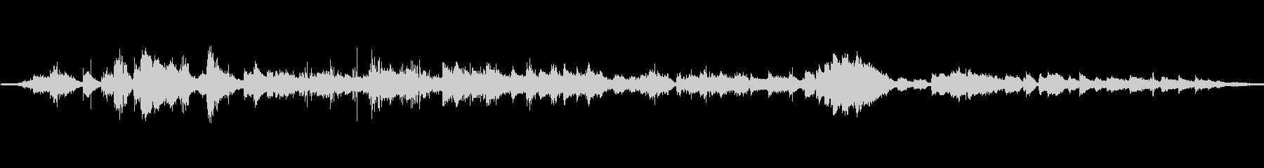フライパンシズルグリルクックの未再生の波形