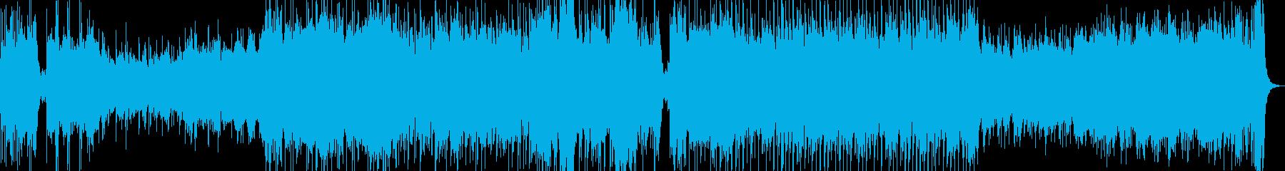 和風演歌侍オーケストラオープニングBGMの再生済みの波形