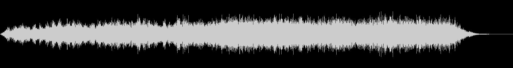 不安にさせる持続音60secの未再生の波形