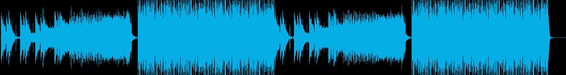 高揚感ロボットの雰囲気あるディスコEDMの再生済みの波形