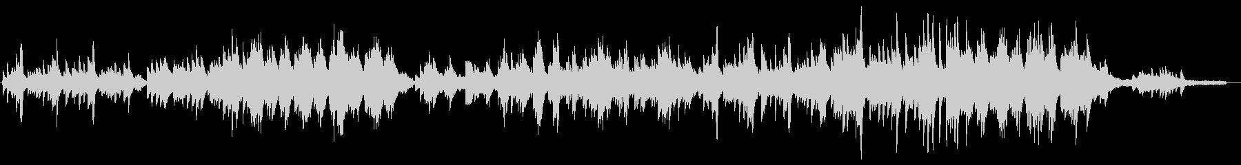 空・未来・感動的なヒーリング系ピアノソロの未再生の波形