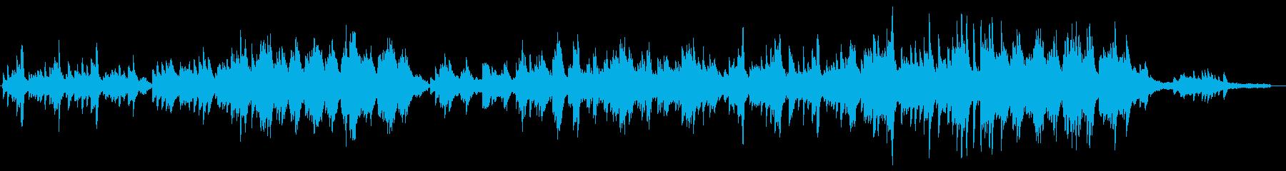 空・未来・感動的なヒーリング系ピアノソロの再生済みの波形