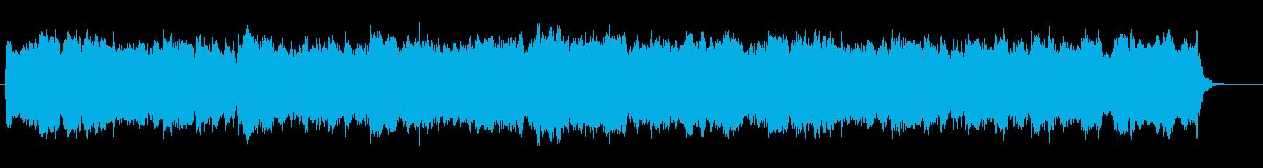 結婚式入退場パイプオルガンBGMの再生済みの波形