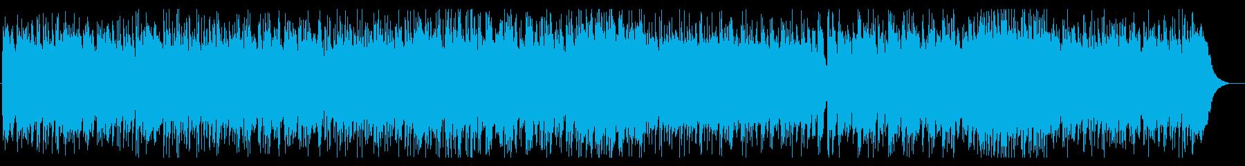 ハード系ロックな「きらきら星」の再生済みの波形