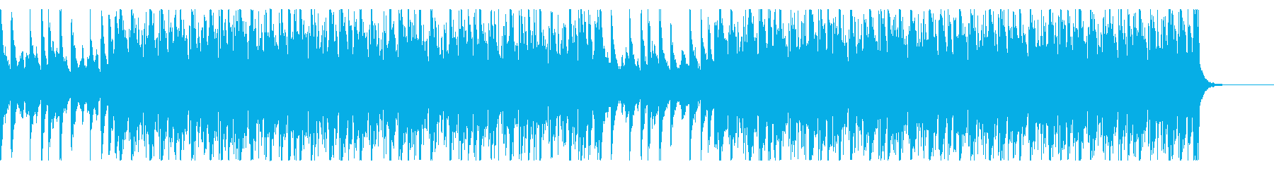都会的で疾走感のあるドラムンベースの再生済みの波形