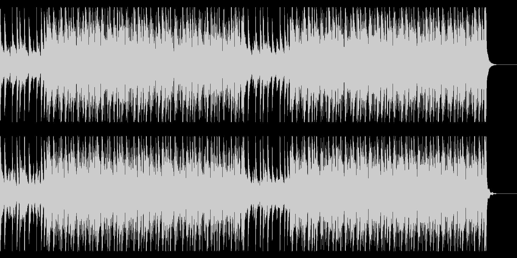 オシャレで疾走感のあるドラムンベースの未再生の波形