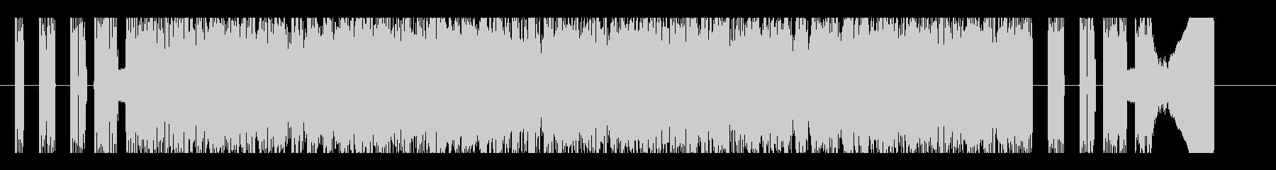 ゴリゴリの激しい和風疾走チップチューンの未再生の波形