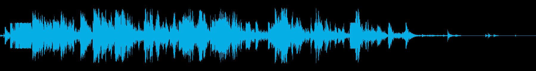 ミディアムウッドクラッシュまたはコ...の再生済みの波形