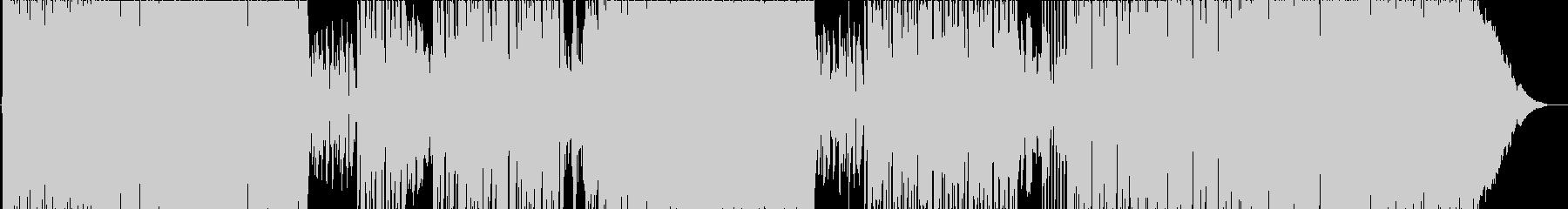 ピカピカの未再生の波形