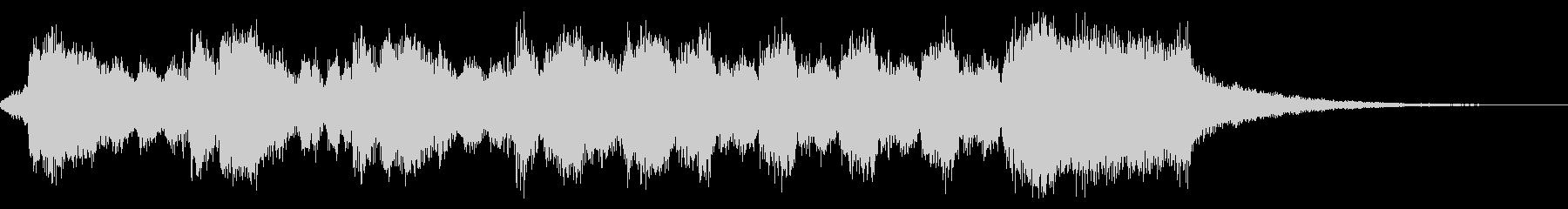 式典向き豪華なオーケストラファンファーレの未再生の波形