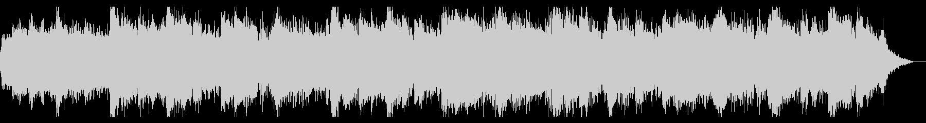 ノイジーでシネマティックなIDMの未再生の波形
