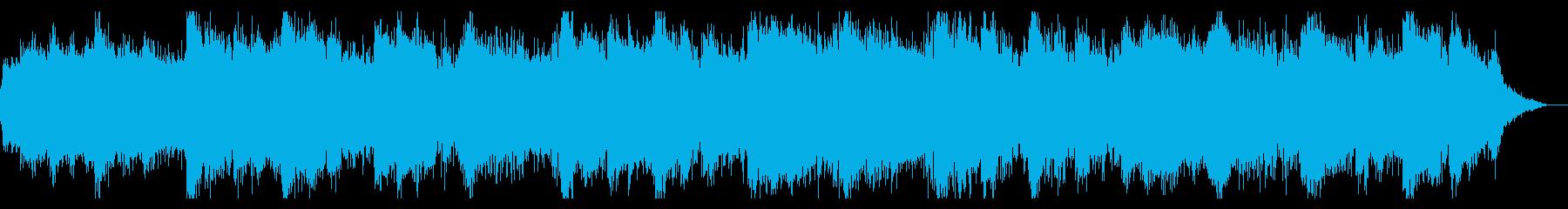 ノイジーでシネマティックなIDMの再生済みの波形