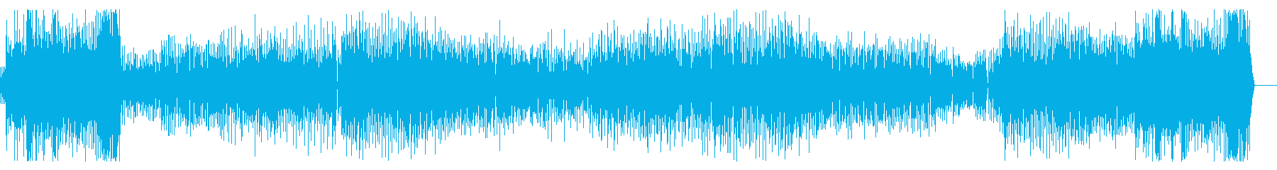 ピコピコ!テンポの速いノリノリインスト!の再生済みの波形