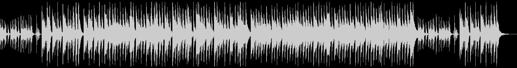 リコーダーと木琴による愉快なポップスの未再生の波形