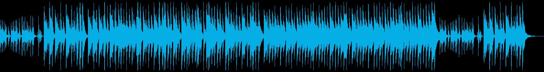 リコーダーと木琴による愉快なポップスの再生済みの波形