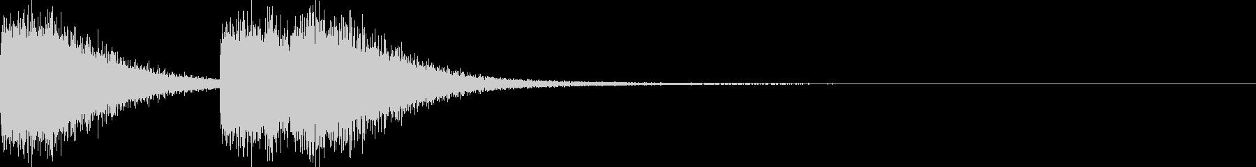 ガシャガシャ(暴れる・ノイズ有り)1の未再生の波形