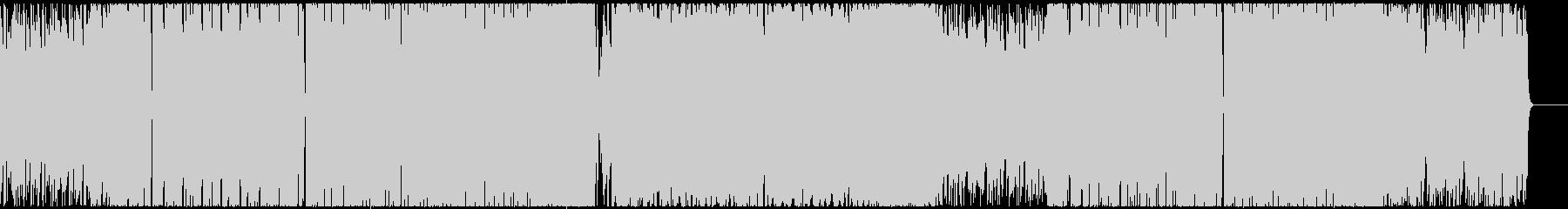 ポップでキャッチーなシンセのEDMの未再生の波形