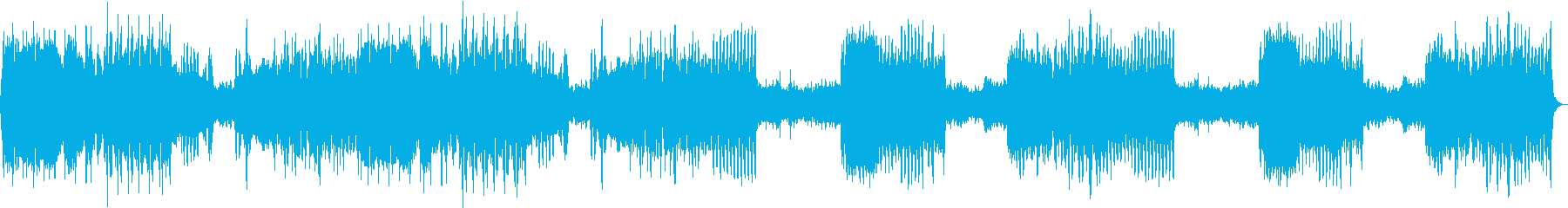 へンデルのカバーの再生済みの波形