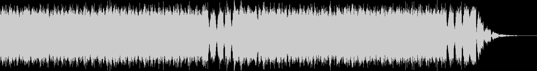 明るくて壮大なEDMドロップ-No.4の未再生の波形
