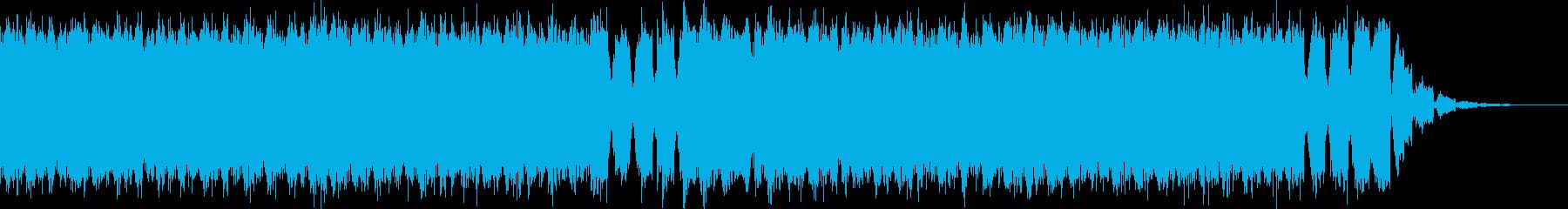 明るくて壮大なEDMドロップ-No.4の再生済みの波形