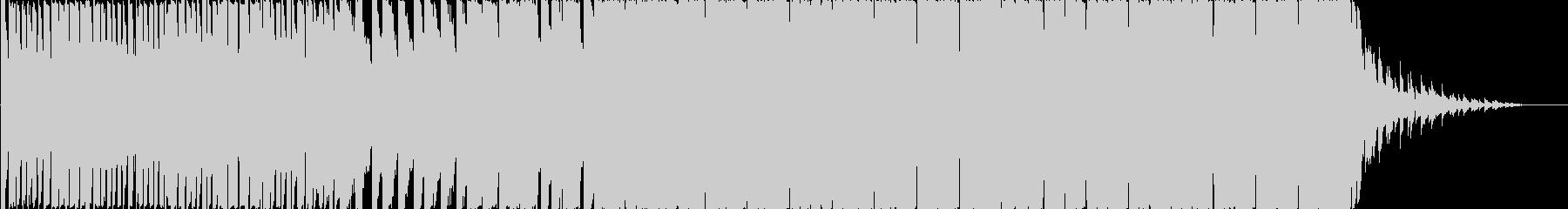 激しく勢いのある原宿系ダンス音楽/BGMの未再生の波形