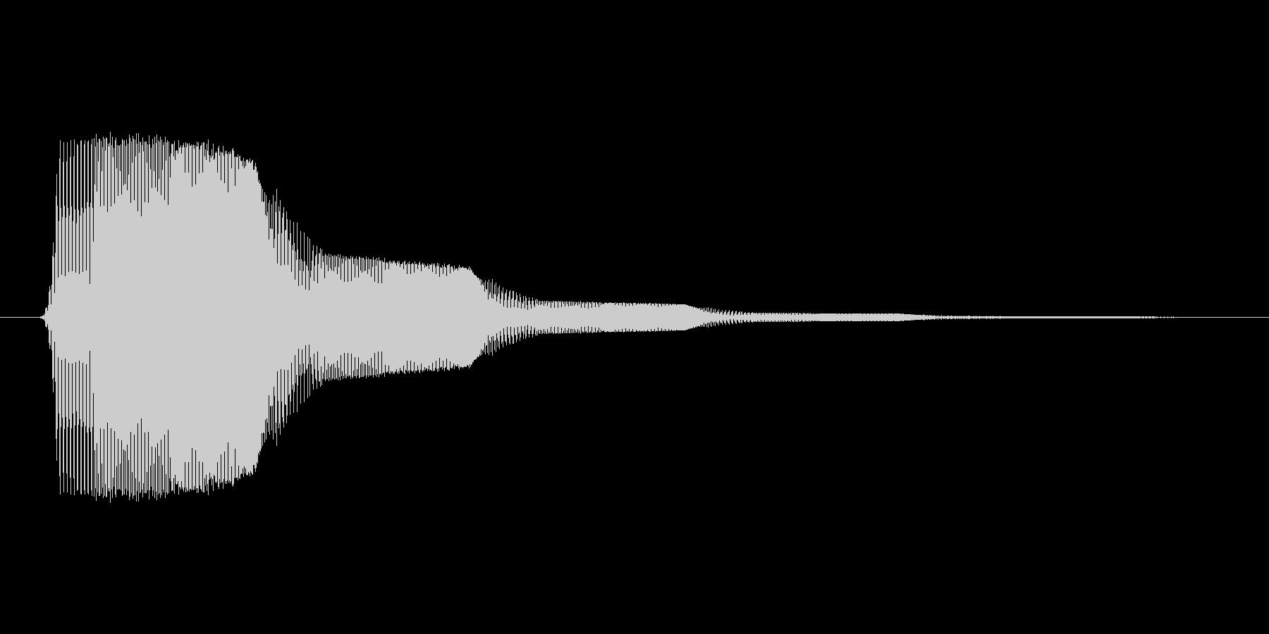 ファミコン風効果音決定音系です 04の未再生の波形