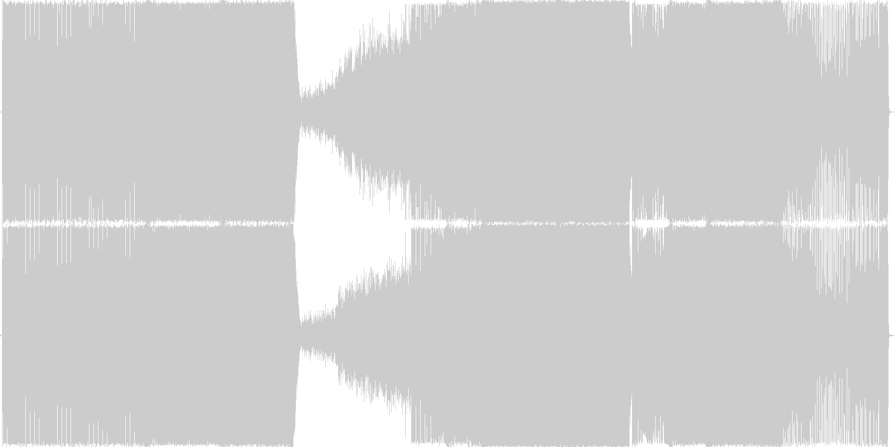トランスの未再生の波形