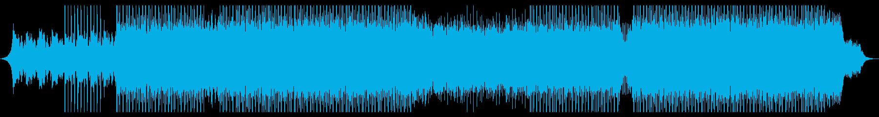 成果の再生済みの波形
