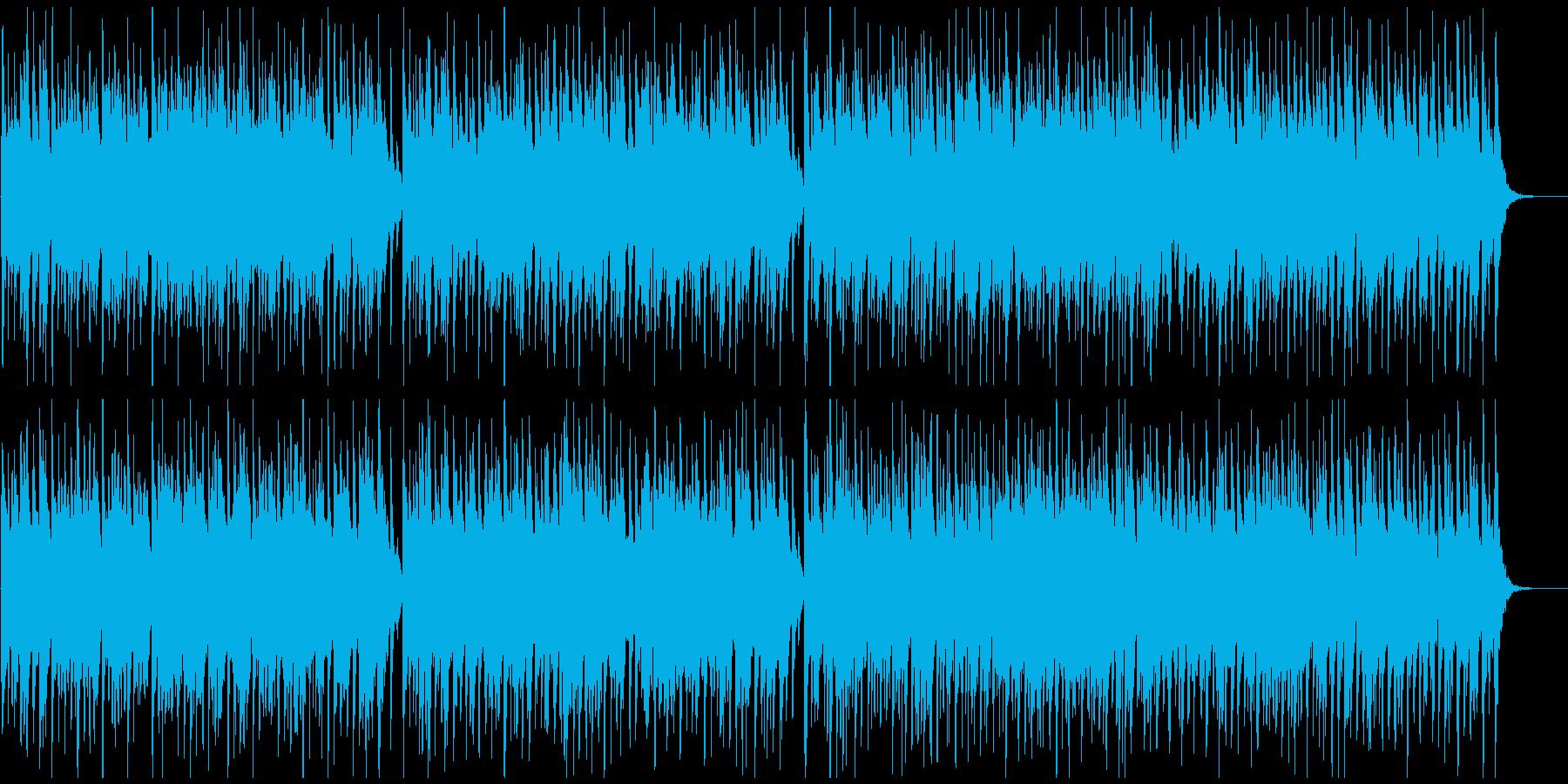 元気ハッピーなウクレレ生演奏ハワイポップの再生済みの波形