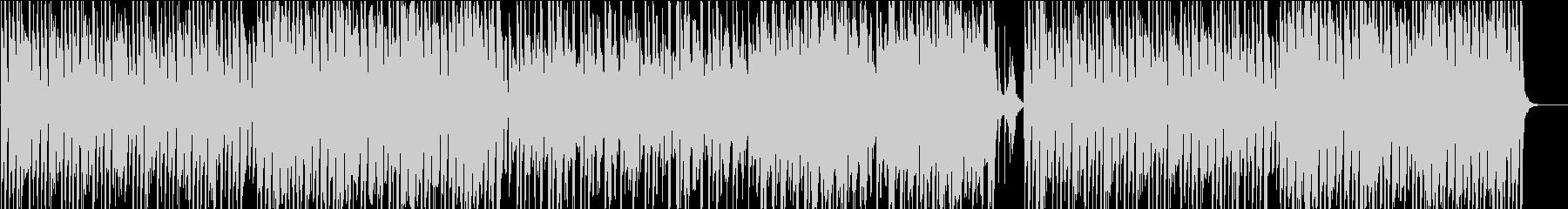 クッキング、サックス、コミカル/静かめの未再生の波形