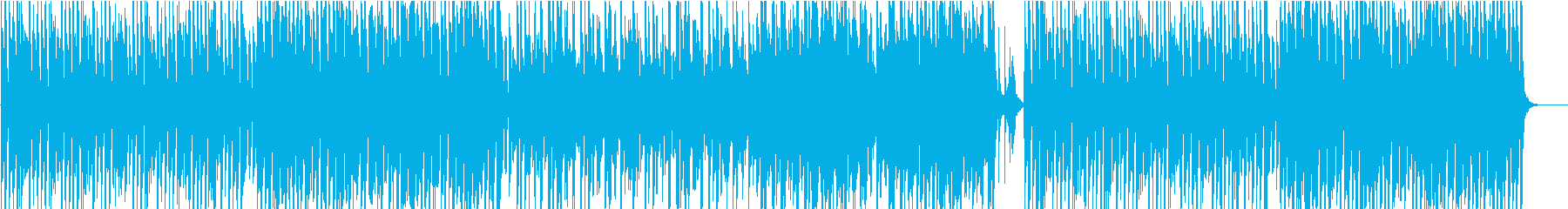 クッキング、サックス、コミカル/静かめの再生済みの波形