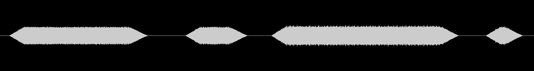 メカ動作・レーザーメス#5の未再生の波形