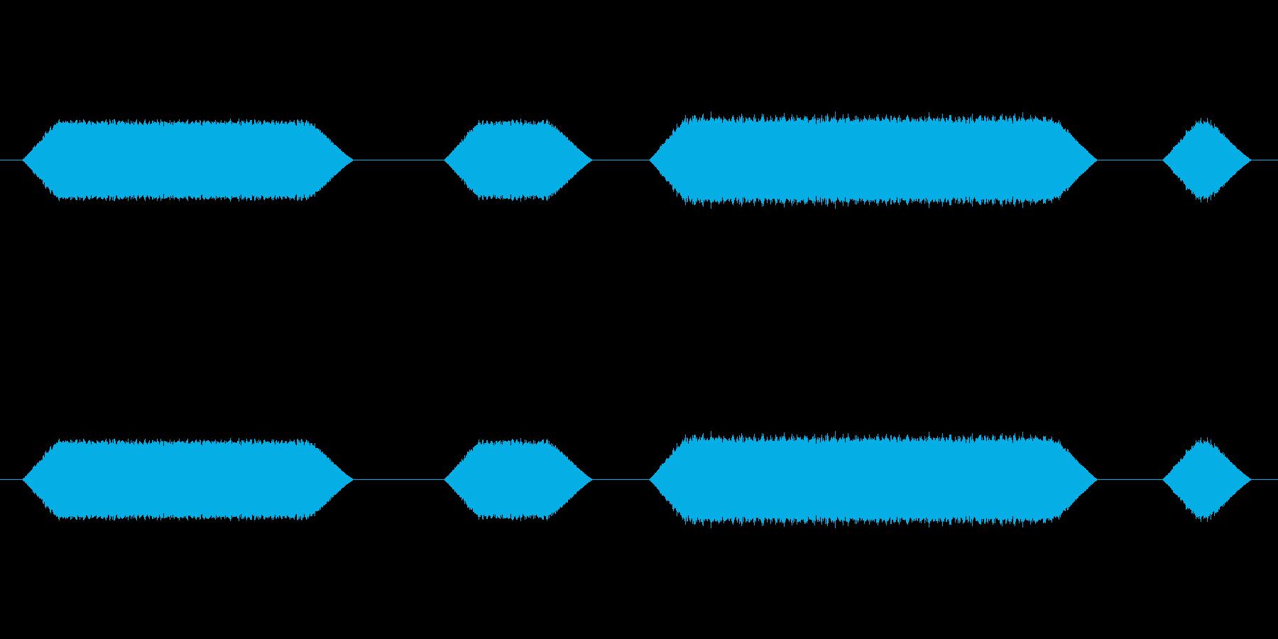 メカ動作・レーザーメス#5の再生済みの波形