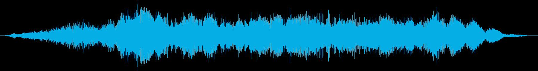【ダークアンビエント】薄暗い黄泉の国の再生済みの波形