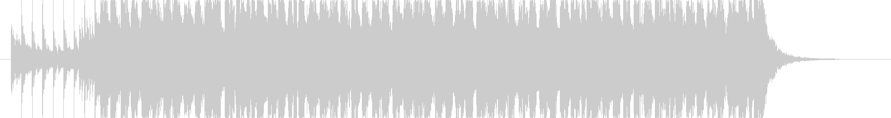 疾走感のあるギターロックポップの未再生の波形