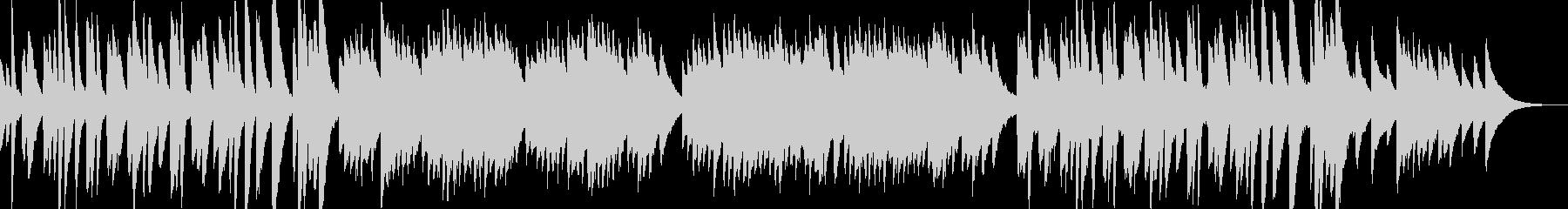 ピアノの音色と旋律が特徴的なアンビエントの未再生の波形