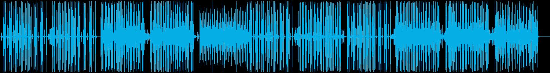 マリンバとリコーダーの可愛いお散歩ポップの再生済みの波形