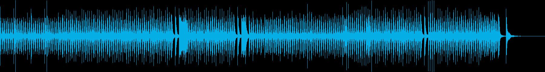 Eテレ系ゆったりカワイイほのぼのピアノ曲の再生済みの波形