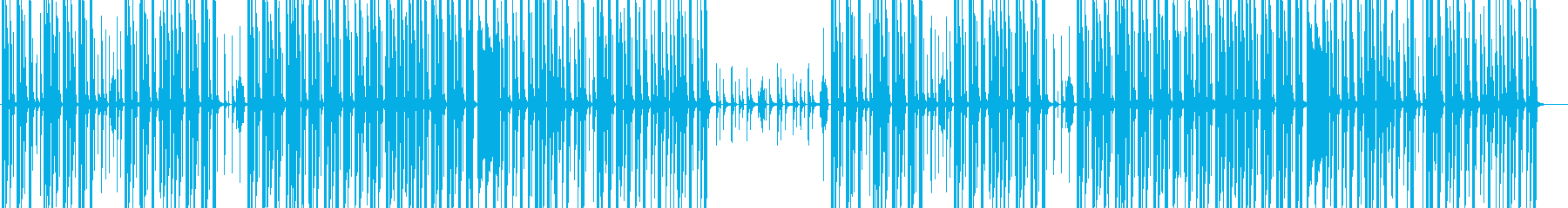 まったりとした休日みたいなBGMの再生済みの波形