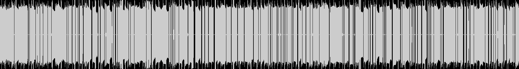 データ解析中の音や暗号解析前の音声 の未再生の波形