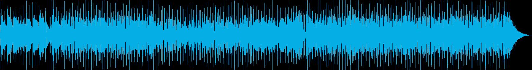 とびっきりHAPPYな曲の再生済みの波形