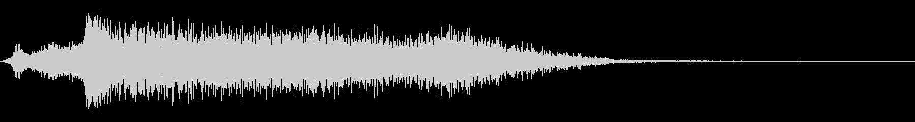 パンチとグライドの未再生の波形