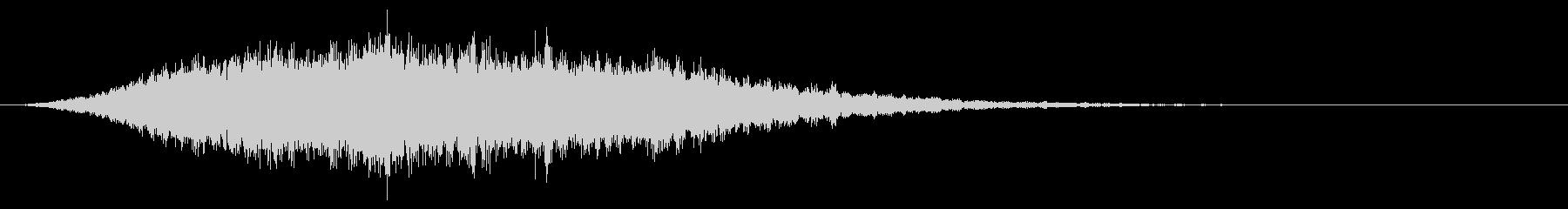 高弦楽器アクセント-不気味の未再生の波形