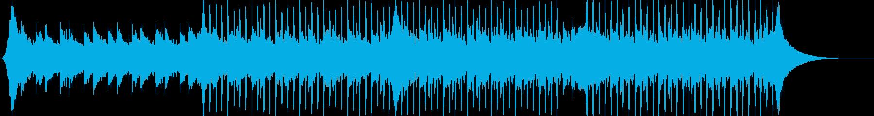 企業VP系38、爽やかギター4つ打ちbの再生済みの波形