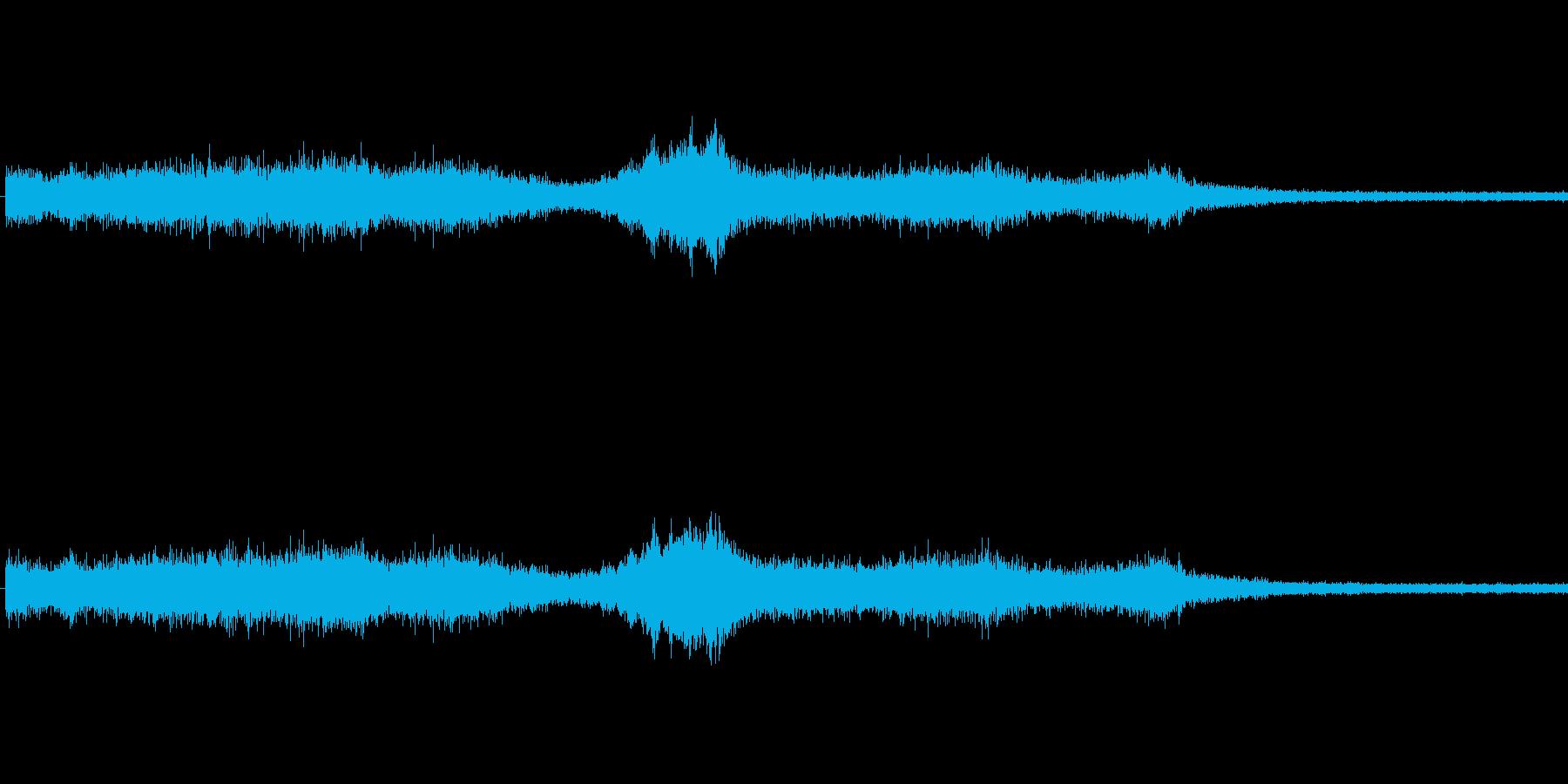 【生音】通行音 - 3 車 バイク 「…の再生済みの波形