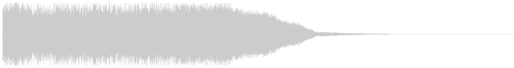 コミカルなファンファーレ ゲームクリア音の未再生の波形